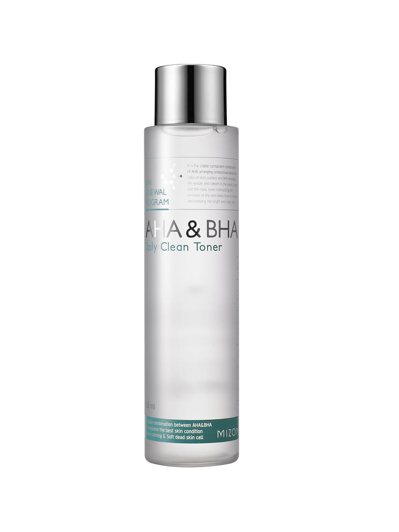 Mizon AHA & BHA Daily Clean Toner, 150ml
