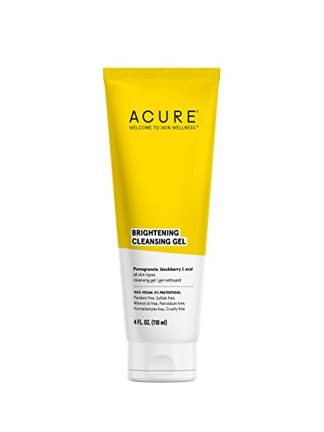 Acure Facial Cleansing Gel, 4 oz.