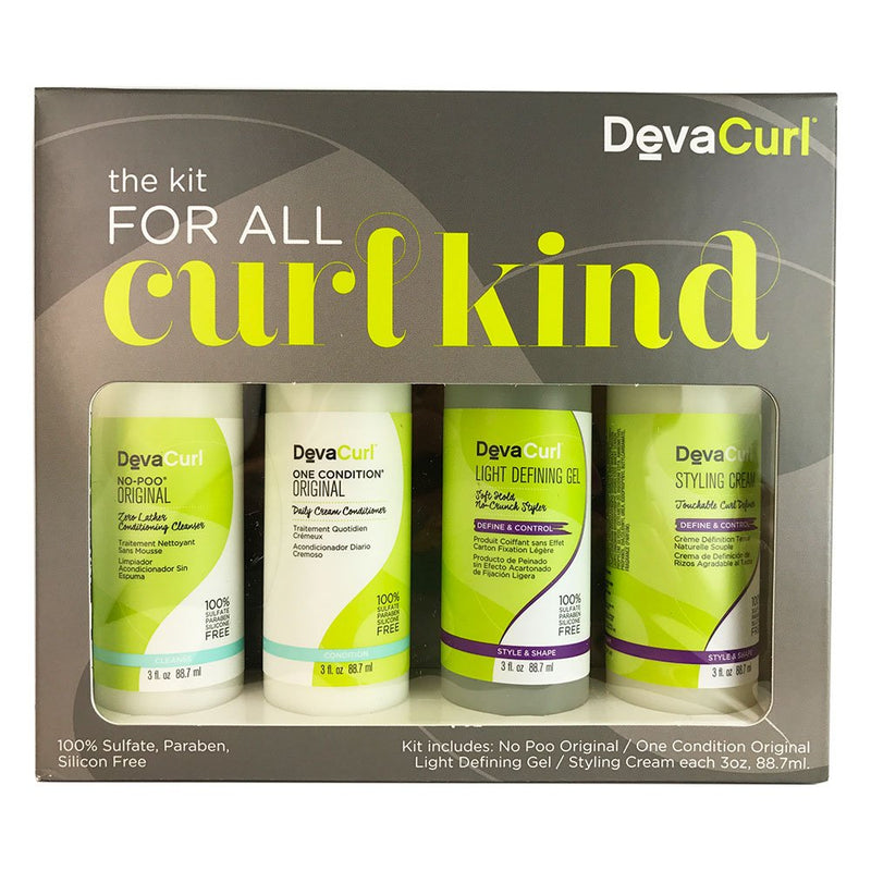 Devaconcepts Hair Curl Kit For All Types Of Curls