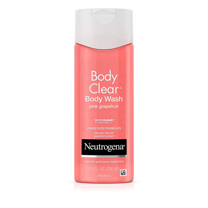 Neutrogena Body Clear Body Wash Pink Grapefruit, 251ml