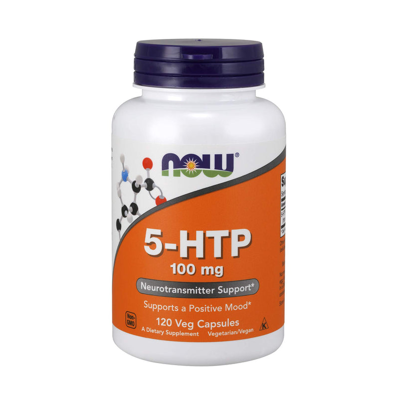 NOW Foods 5-HTP 100mg, 120 VCaps
