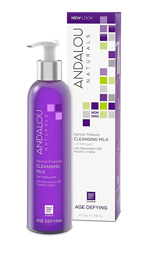 Andalou Naturals 6-Ounce Apricot Probiotic Cleansing Milk