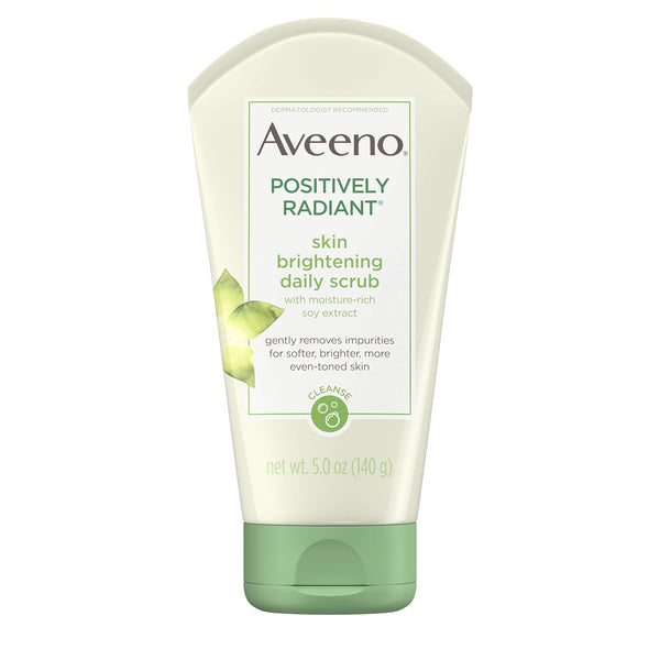 Aveeno Positively Radiant Skin Brightening Daily Scrub, 5 Oz