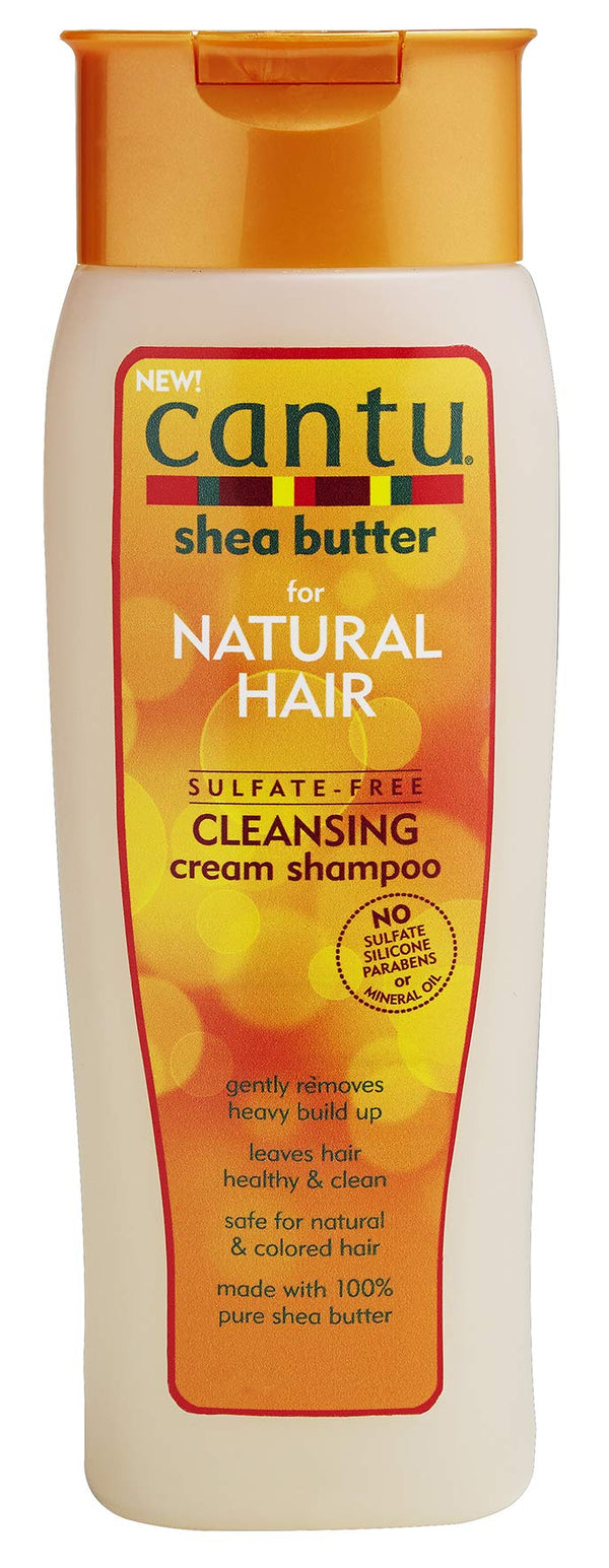 Cantu Shea Butter For Natural Hair Sulfate Free Cleansing Cream Shampoo, 13.5 Ounce
