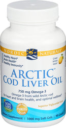 Nordic Naturals - Arctic CLO, Heart and Brain Health, and Optimal Wellness, 90 Soft Gels