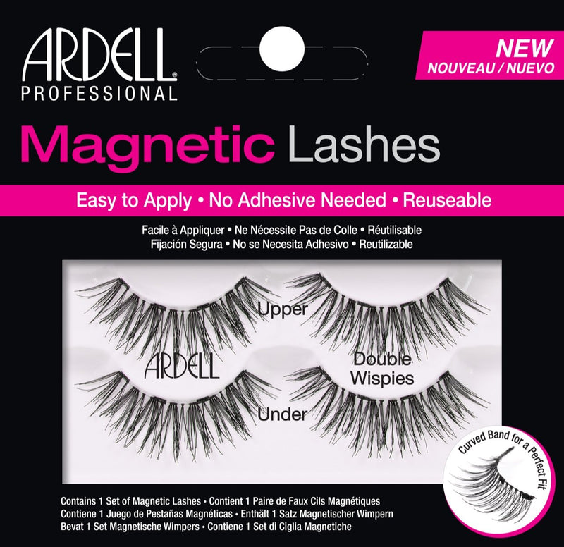 Ardell Magnetic Double Demi Wispies, Black, 10 g