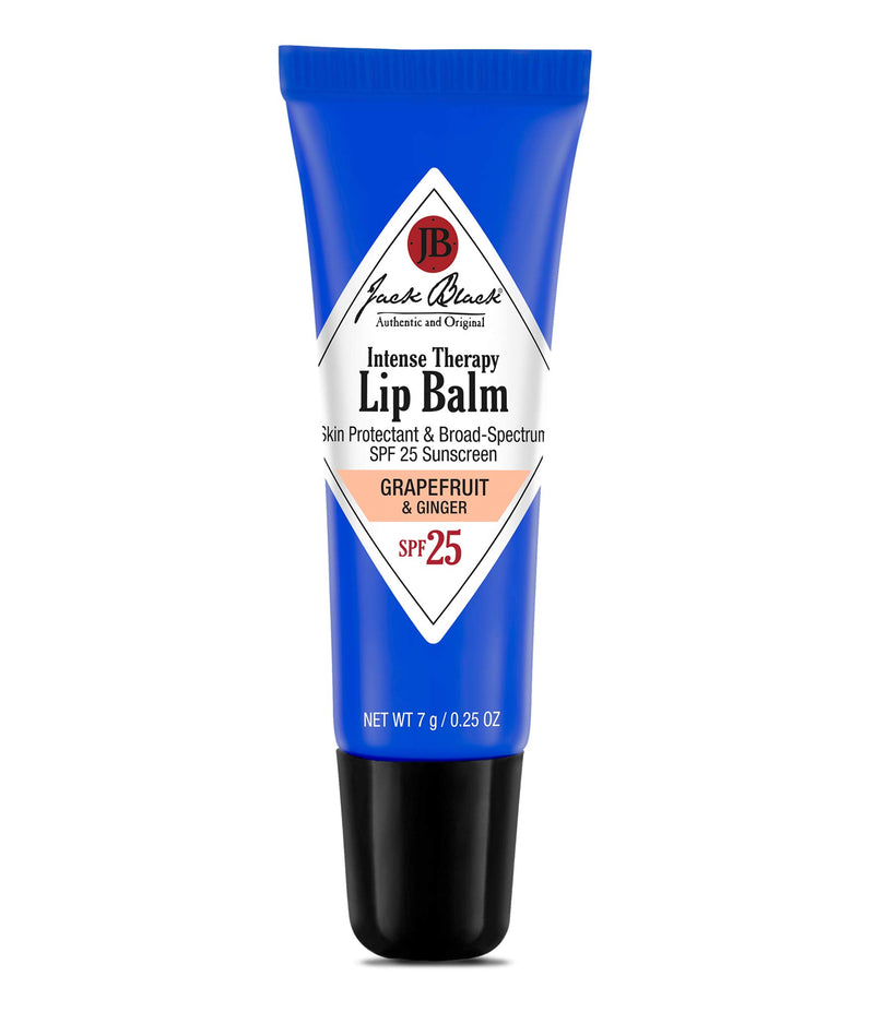 Jack Black Intense Therapy Lip Balm SPF 25, Grapefruit & Ginger, 0.25 fl.oz.