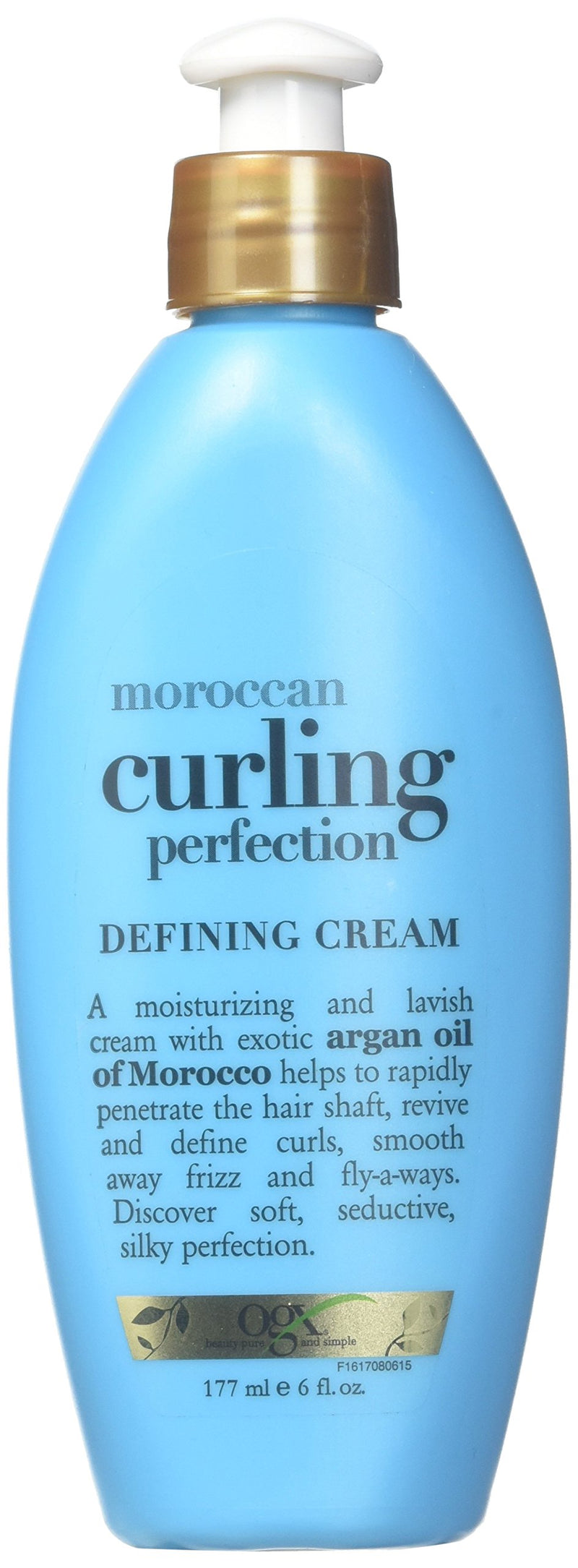 OGX Organic Moroccan Curl Perfection Defining Cream (177 ml, 6 oz)