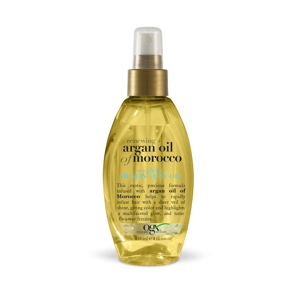 OGX Renewing + Argan Oil of Morocco Weightless Healing Dry Oil, 4 Ounce