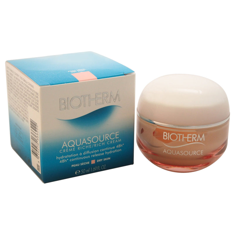 Biotherm Aquasource 48H Continuous Release Hydration Rich Cream (Dry Skin) 50ml
