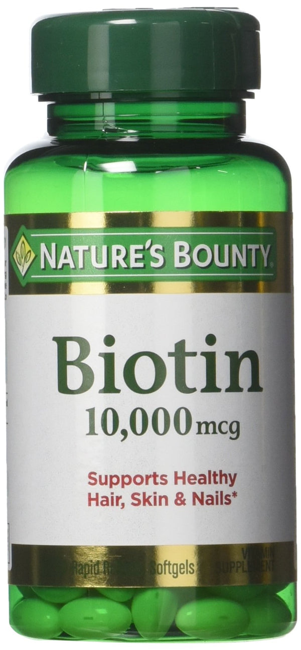 Natures Bounty Ultra Strength Biotin 10,000mcg - 120 Count