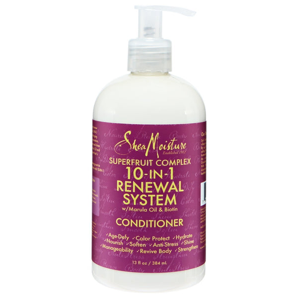 Shea Moisture Superfruit Complex 10-in-1 Renewal System Conditioner 13 Oz.