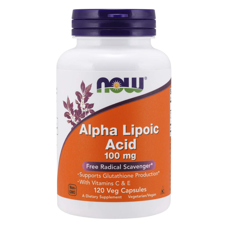 NOW Foods Alpha Lipoic Acid 100mg, 120 Vcaps