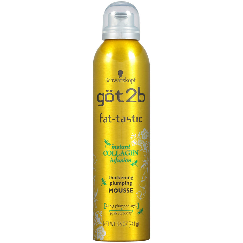 Got2b Fat-Tastic Thickening Plumping Mousse, 8.5Oz