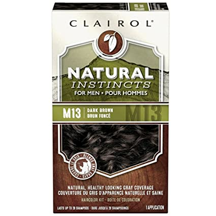 Natural Instincts for men Haircolor M13 dark brown 1 each, pack of 1