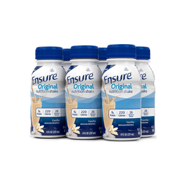 Ensure Original Nutrition Shake, Vanilla 8 oz, 6 ea