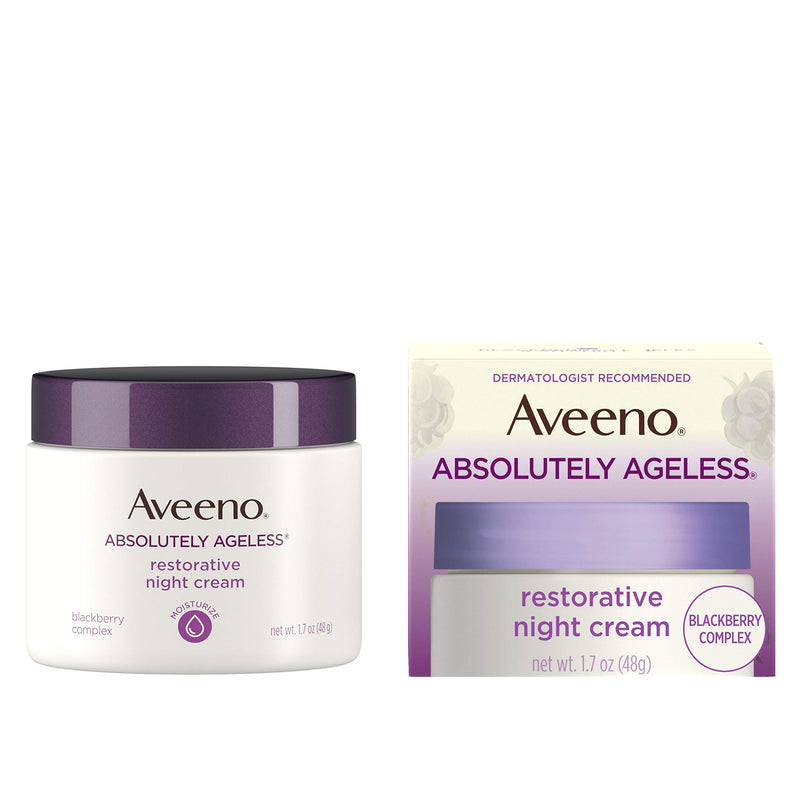 Aveeno Absolutely Ageless Restorative Night Cream, 1.7 fl. oz