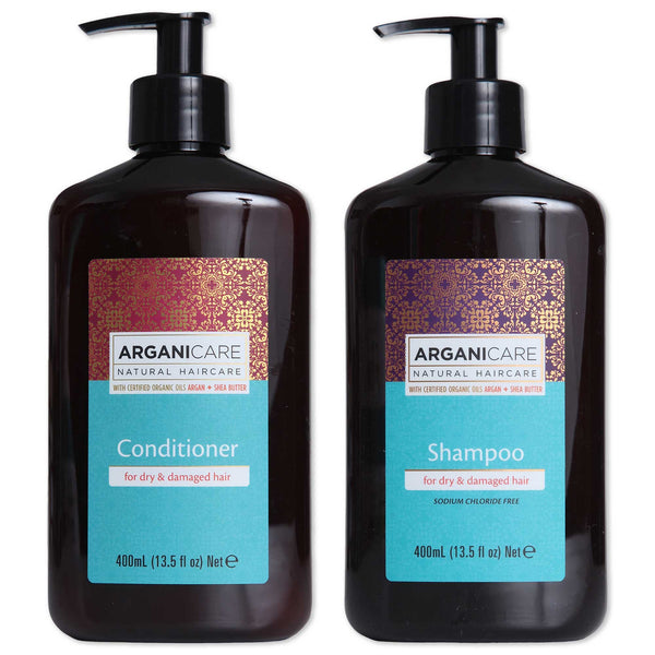 Arganicare Shampoo and Conditioner for Dry Hair - Value Pack