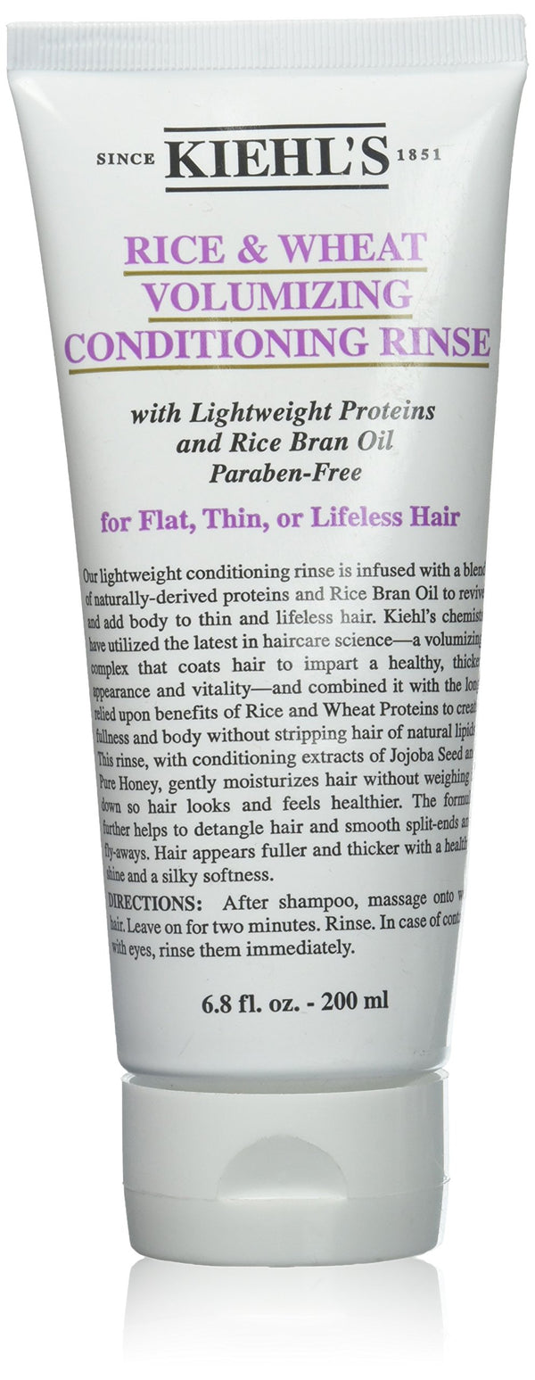 Kiehl's Rice and Wheat Volumizing Conditioning Rinse, 6.8 Ounce