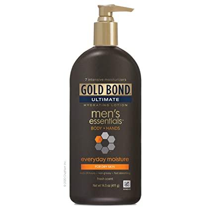 Gold Bond Gold Men's Daily Lotion