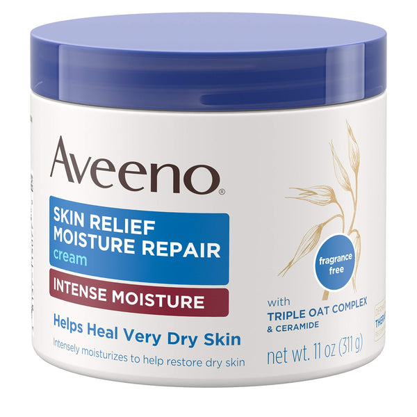 Aveeno Skin Relief Moisturizing Cream, 11 Oz