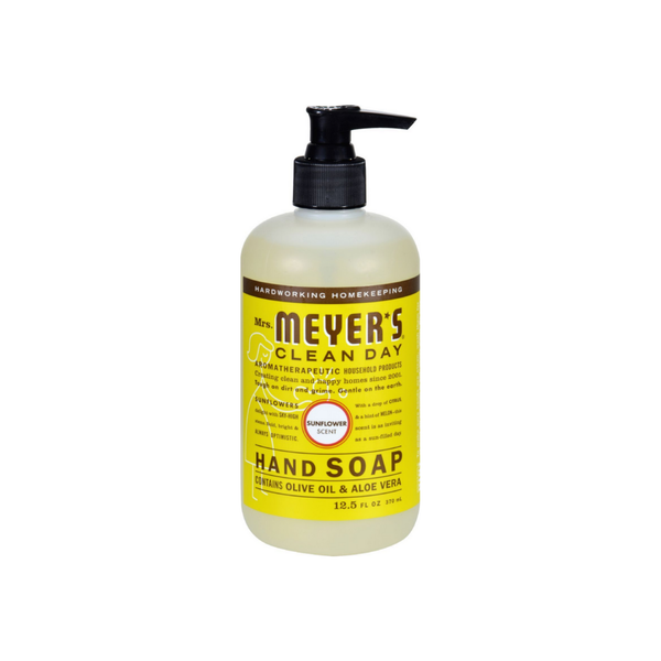 Mrs. Meyers Clean Day Hand Soap, Sunflower 12.50 oz