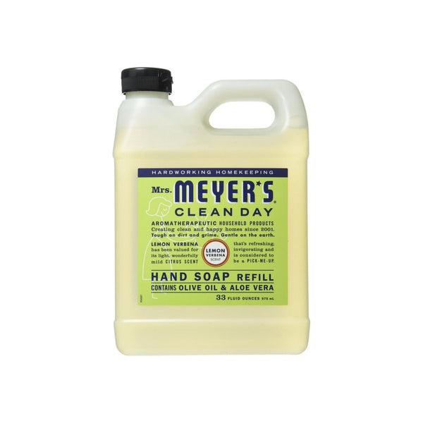 Mrs. Meyers Clean Day Hand Soap Refill, Lemon Verbena 33 oz