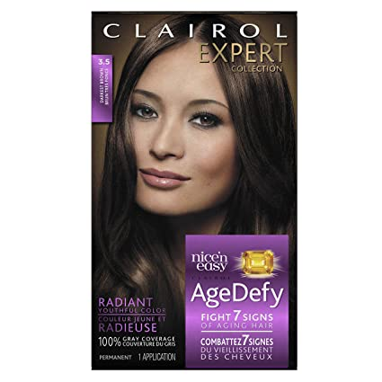 Clairol - Hair Dye from the Age Defy Expert collection, Total 1, 3 dark brown.