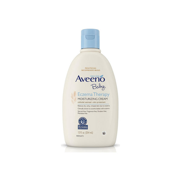 Aveeno Baby Eczema Therapy Moisturizing Cream 12 oz