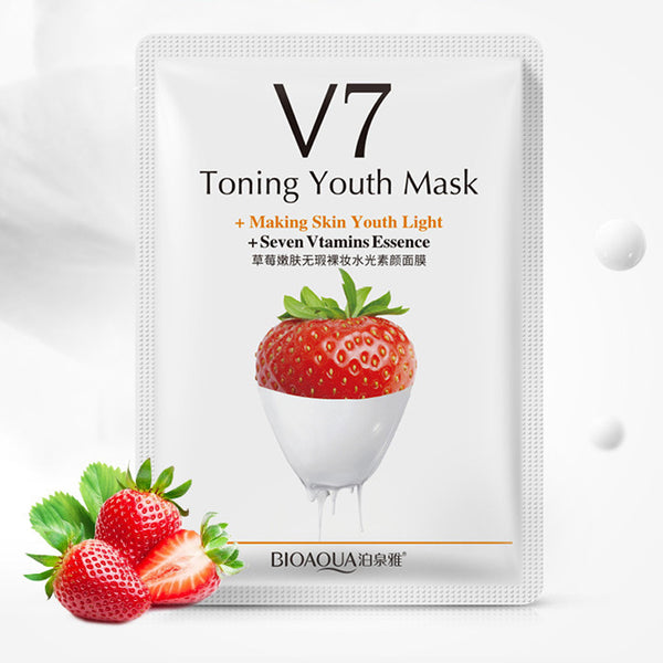 Toning Youth Oil Control Hydrating Nourishing Cherry Face Mask