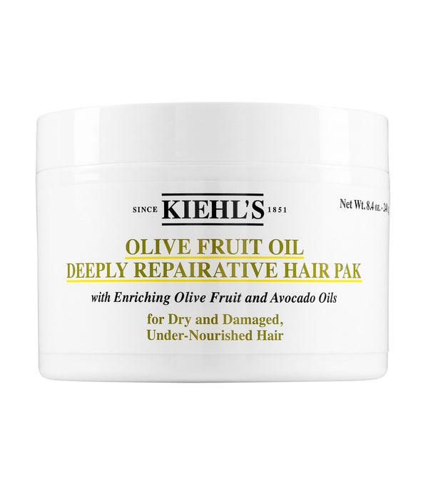 Kiehl's Olive Fruit Oil Deeply Repairative Hair Pak (For Dry and Damaged, Under-Nourished Hair) 250ml/8oz