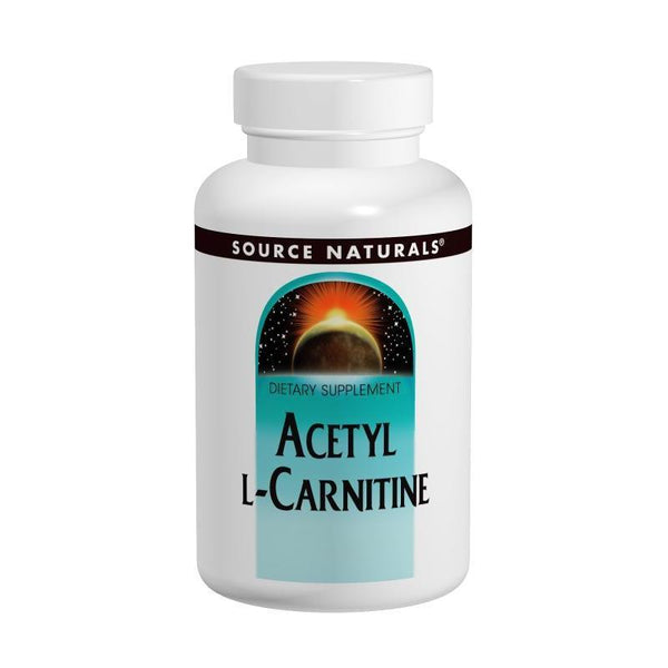 Source Naturals Acetyl-L-Carnitine 500mg 60T