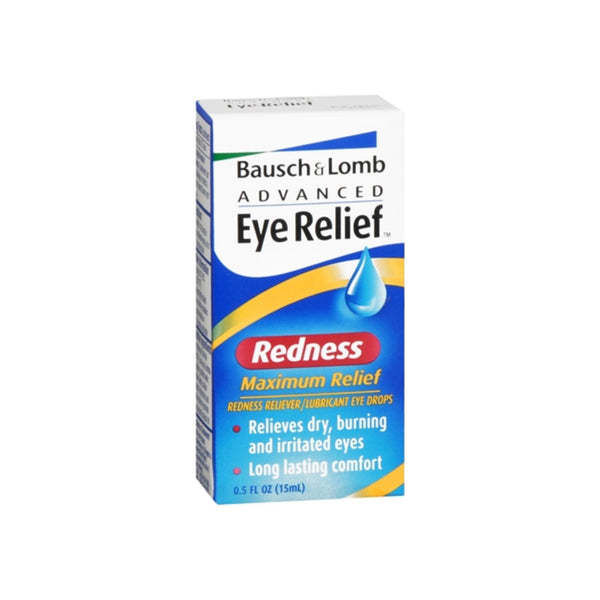 Bausch & Lomb Advanced Eye Relief Redness Maximum Relief Eye Drops 0.50 oz