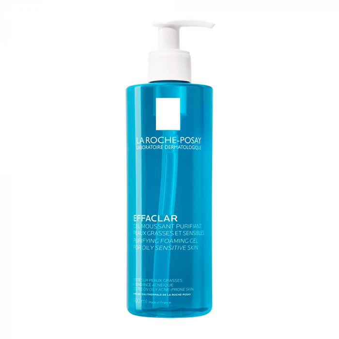 La Roche-Posay Effaclar Purifying Foaming Gel Cleanser for Oily Skin 400ml