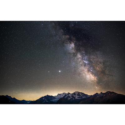 The Milky Way over les Combins - Melody Sky - sleeboo