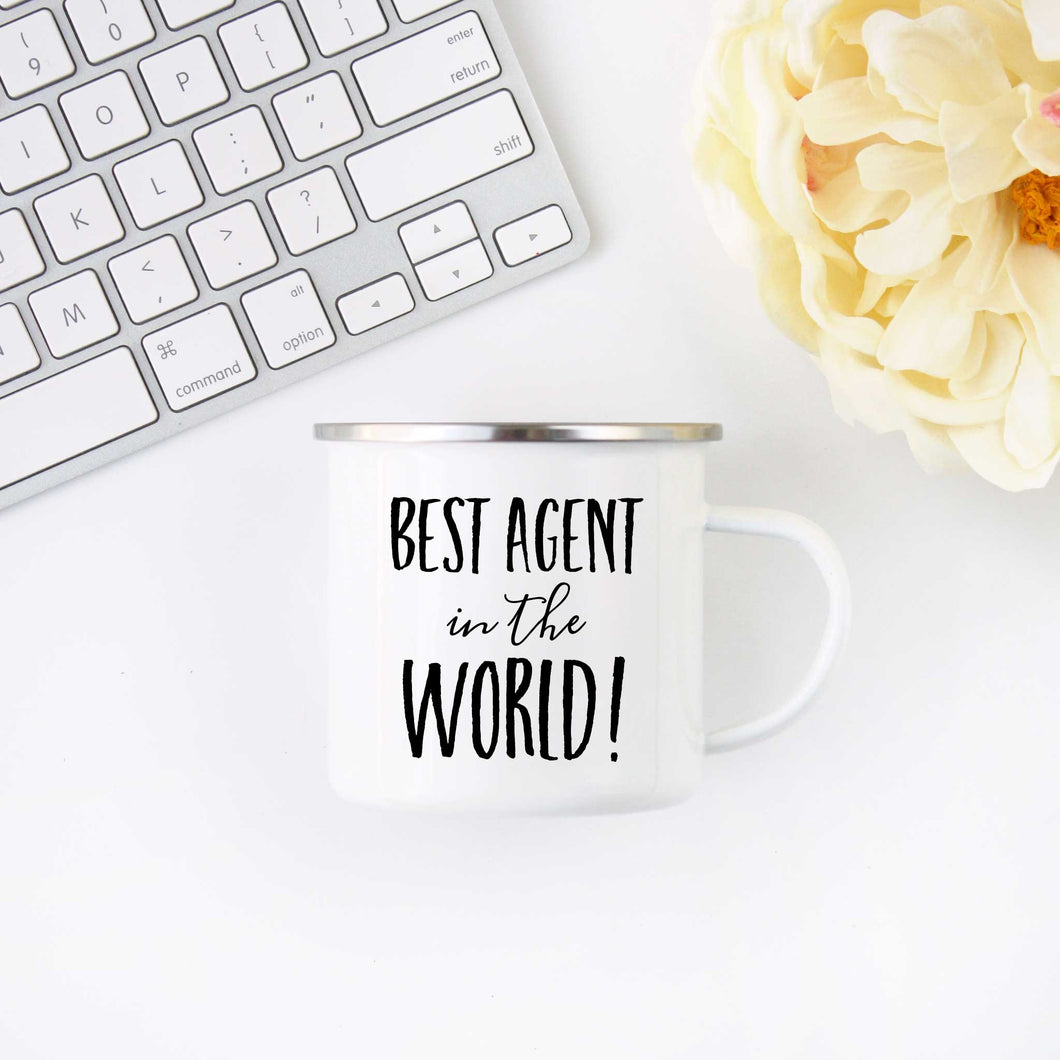 Best Agent in the World Coffee Mug