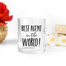 Load image into Gallery viewer, Best Agent in the World Coffee Mug