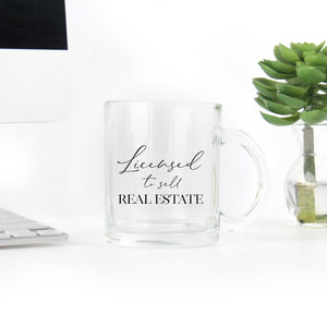 Licensed to Sell Real Estate Coffee Mug