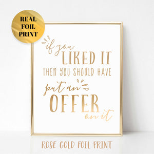 Put an Offer on It Poster Print