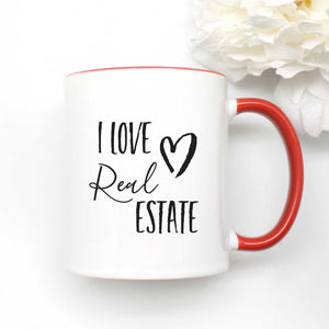 I Love Real Estate Coffee Mug