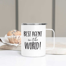 Load image into Gallery viewer, Best Agent in the World Realtor Travel Mug
