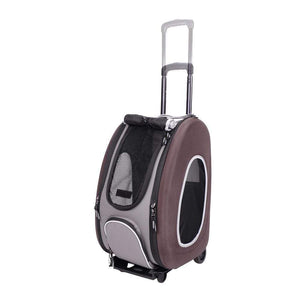 5-in-1 Pet Carrier/Stroller - Chocolate