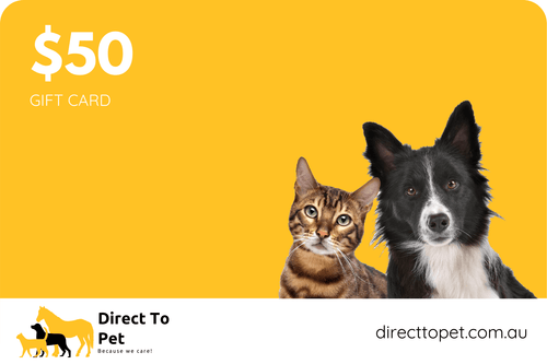$50 Direct To Pet Gift Card