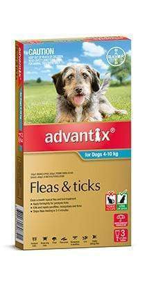 Advantix Aqua Medium Dog (3 Pack)