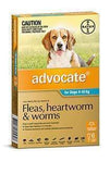 Advocate Aqua Medium Dog (6 Pack)