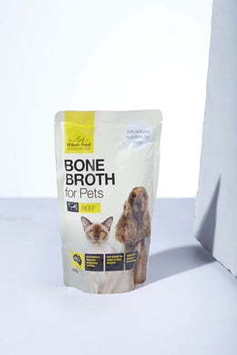 Art of Whole Food Beef Bone Broth for Pets 500g