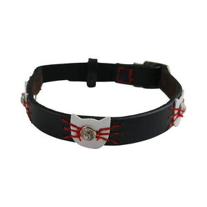 BLACK FELIX CAT COLLAR