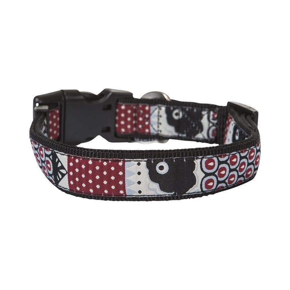 BLACK SWIMMABLE DOG COLLAR