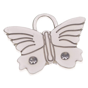 BLING BUTTERFLY PET ID TAG