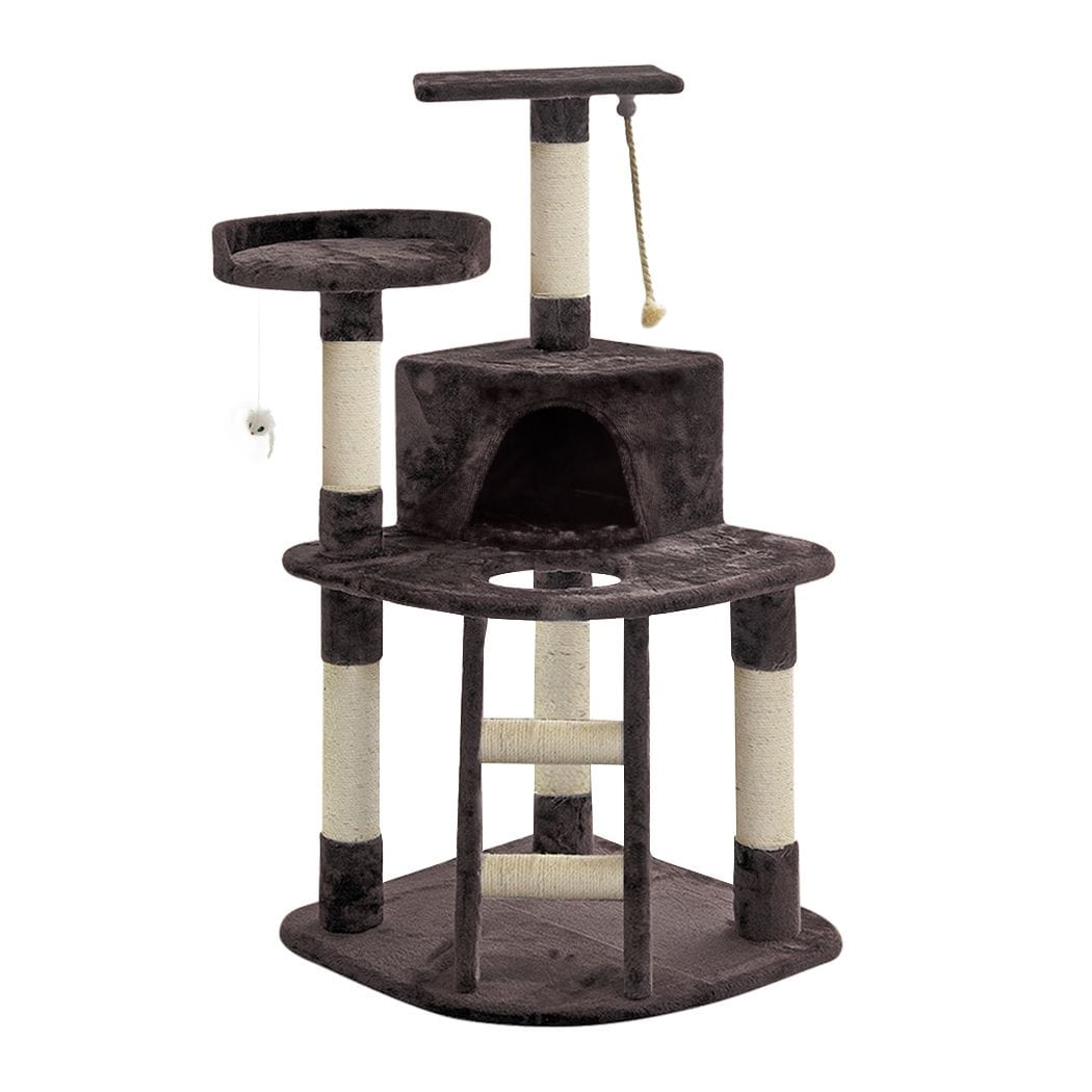 Cat Scratching Post Specialists | Cat Scratcher Trees & Poles 120cm Cat Scratching Post / Tree / Pole - Grey